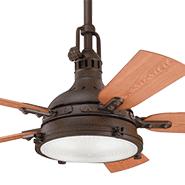 Industrial Style Ceiling Fan: Outdoor Ceiling Fans,Lighting